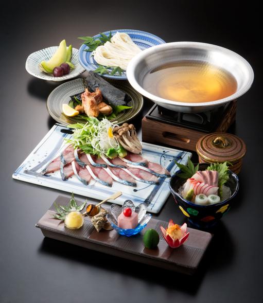 旬魚のしゃぶしゃぶコース(全7品)